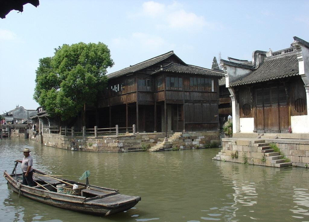055乌镇老街图片